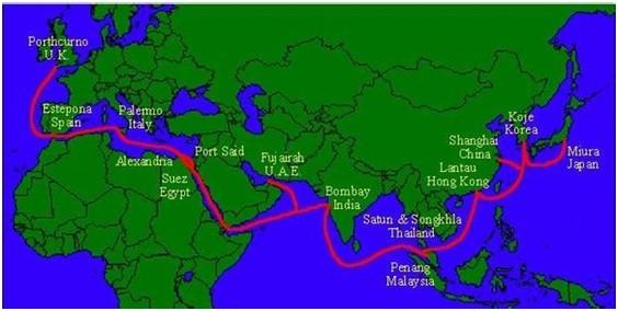 中国海底光缆分布�_中国大陆海底光缆分布图--靠谱企业电子邮件服务商